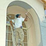 Машинно боядисване и сухо строителство.